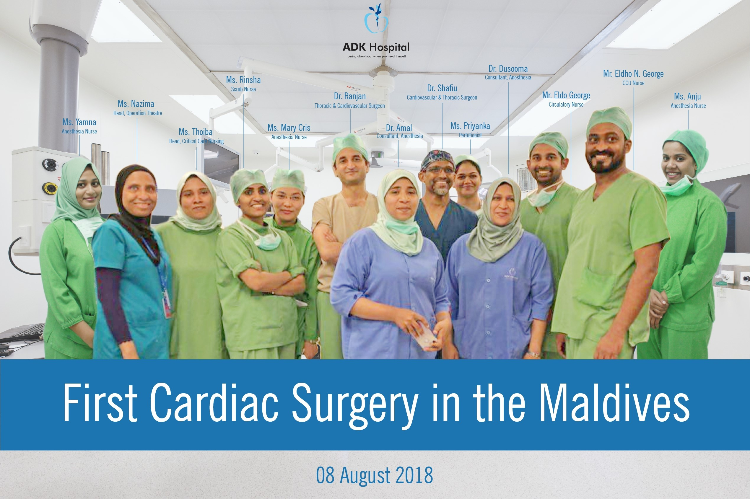 The First Bypass Surgery In The Maldives Caring About You When